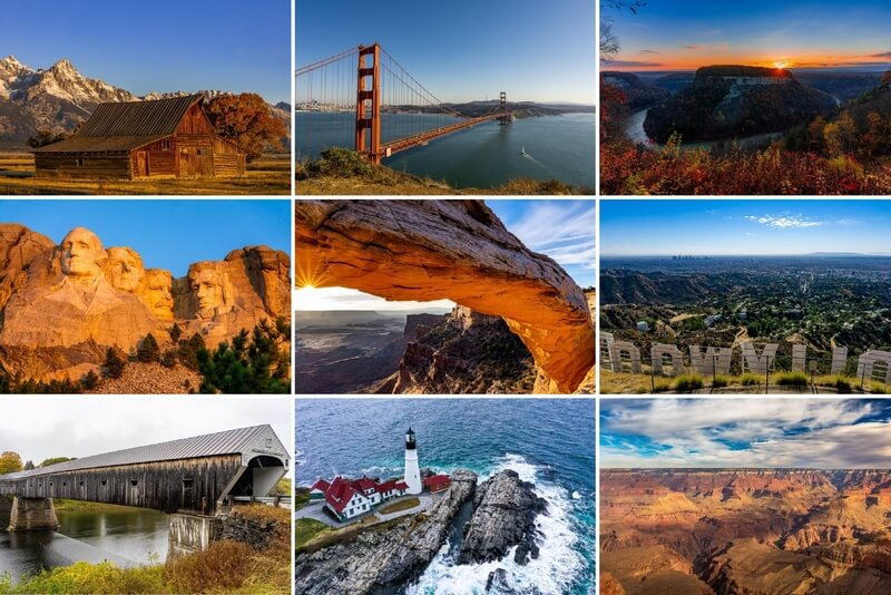 Travel Photography US bucket list inspiration where are those morgans photography in america
