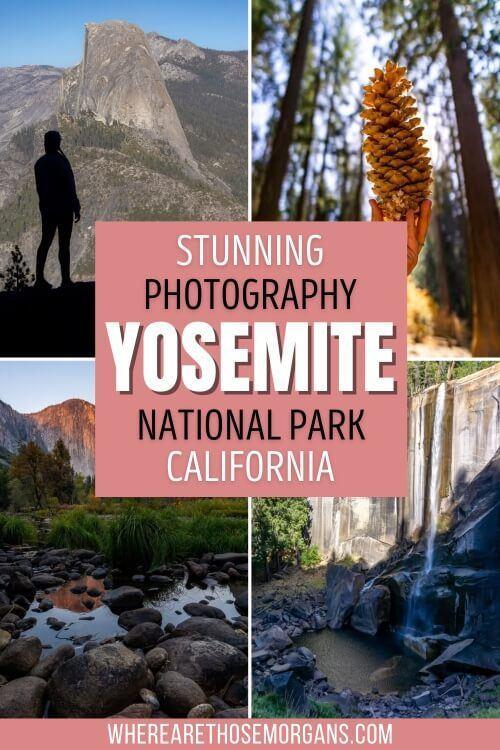 Stunning Photography Yosemite National Park California