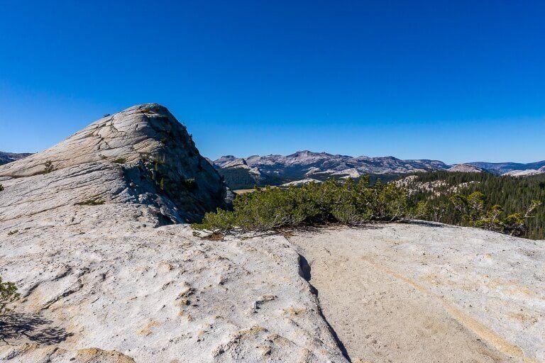 Lembert Dome summit view yosemite national park photography