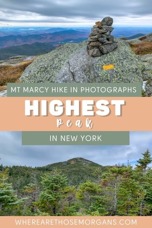 Mt Marcy Hike in Photographs Highest Point in New York