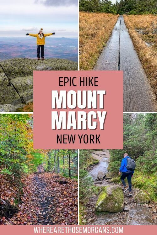 Epic Hike Mount Marcy New York