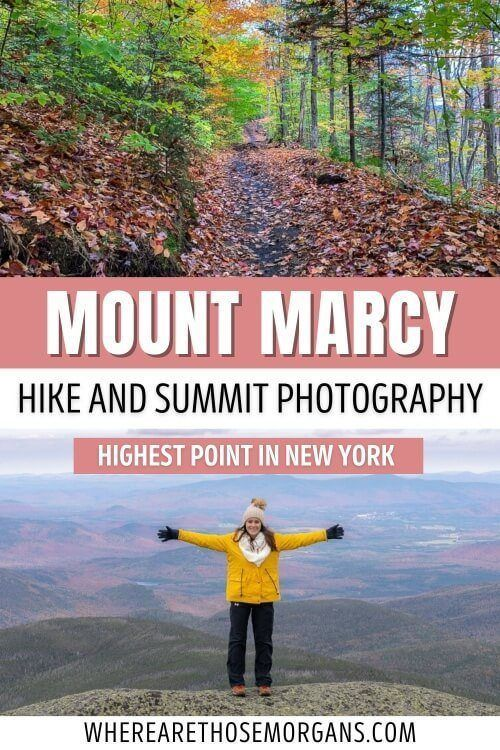 Mount Marcy Hike and Summit Photography Highest Point in New York