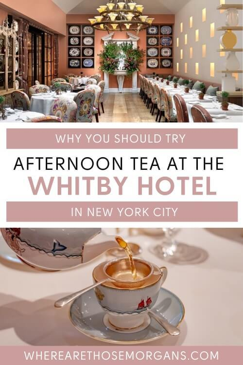 Why you should try afternoon tea at the whitby hotel in nyc