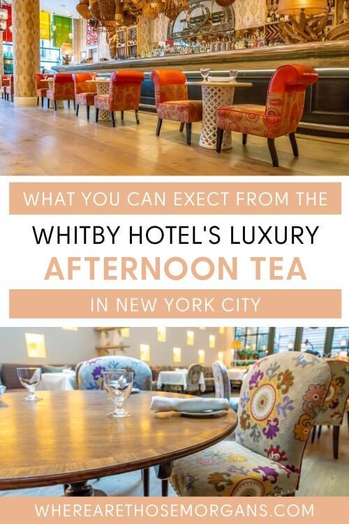 New York City luxurious way to spend the early evening with sandwiches, scones and desserts
