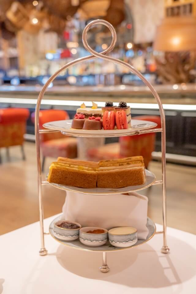 Three tiered stand afternoon tea nyc the whitby hotel manhattan new york city