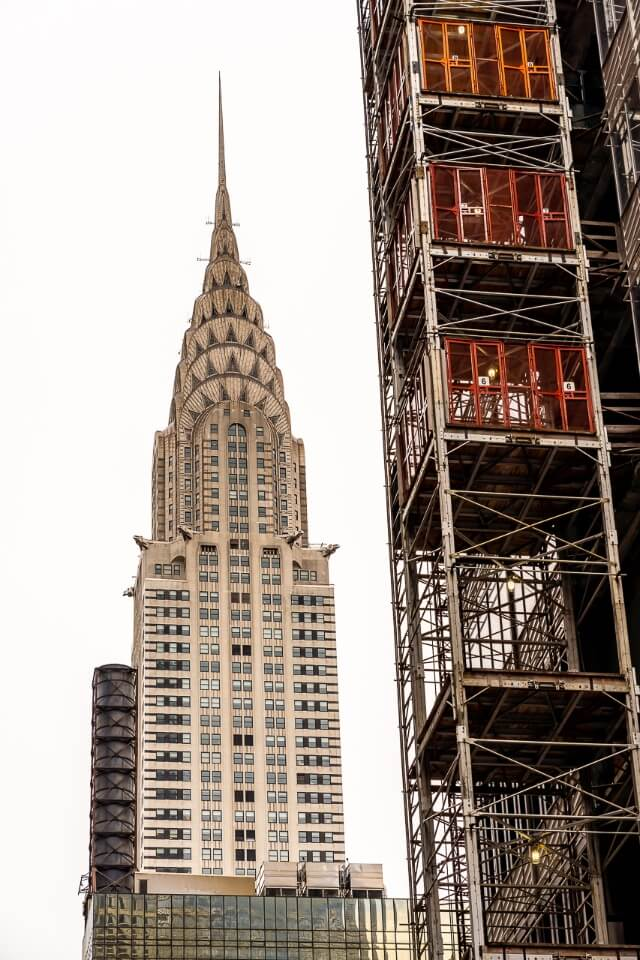 Chrysler Building in Midtown Manhattan is a stunning building perfect for architecture photography fans