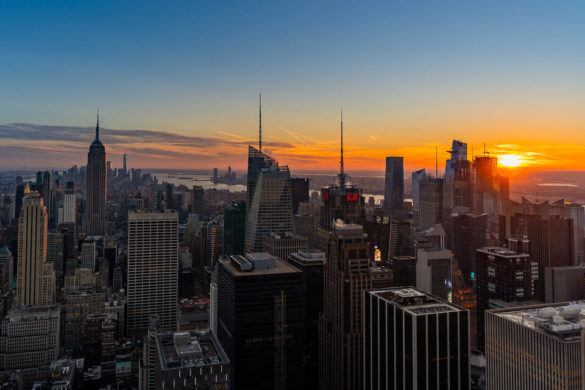Best Things to do in New York City Sunset Top Rock Attraction NYC Where Are Those Morgans