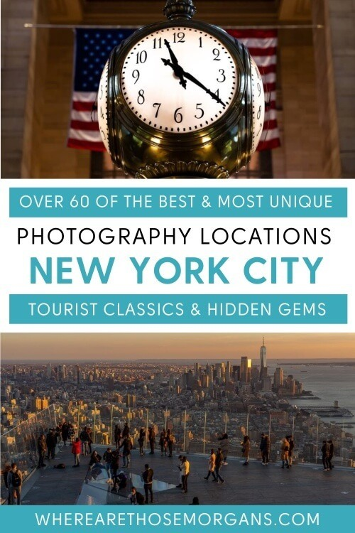 Over 60 of the best and most unique photography locations in new york city tourist classics and hidden gems