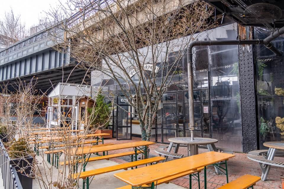Meatpacking district is a great place to party in new york city for first time visitors