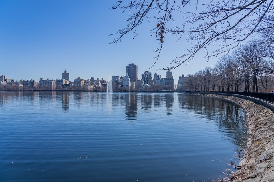 Run around central park for couples visiting new york city first time lovely run