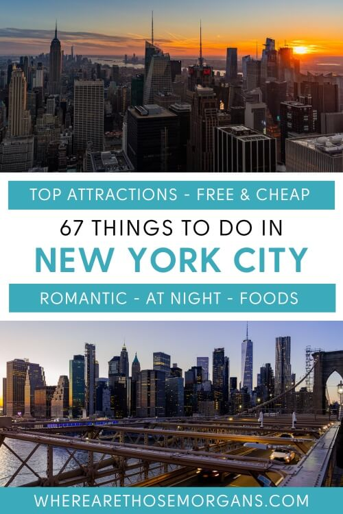 Top attractions Free and Cheap Romantic at night foods 67 things to do in new york city