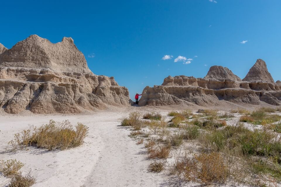 Where are those morgans window trail strange buttes and spires in south dakota