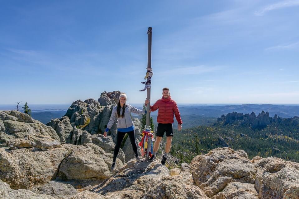 Where are those morgans at the summit of black elk peak hike trail in south dakota